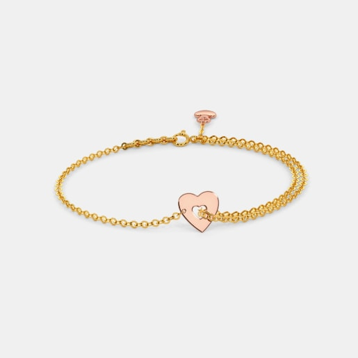 The Dreamer Heart Bracelet