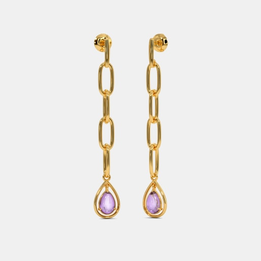 The Elvina Drop Earrings