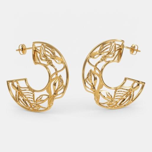 Buy 200 22k Gold Earring Designs Online In India 2019 Bluestone Com