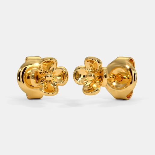 The Kaloni Multi Pierced Stud Earrings