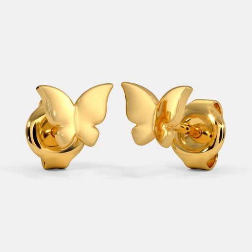 The Laia Multi Pierced Stud Earrings