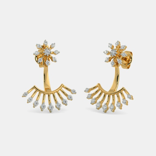 The Debyuti Front Back Earrings