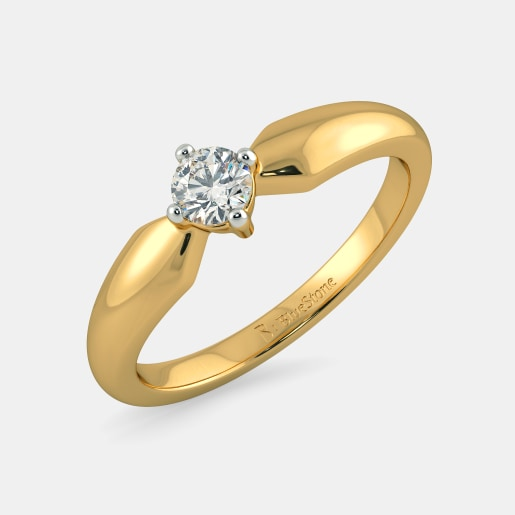 Buy 50 Single Stone Diamond Ring Designs Online In India 2019