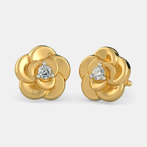 The Delightful Flower Earrings