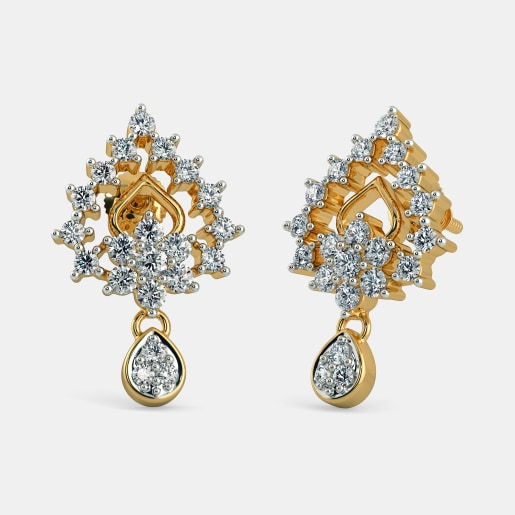 17775a34e4be0 Earrings - Buy 2100+ Diamond & Gold Earring Designs Online | BlueStone