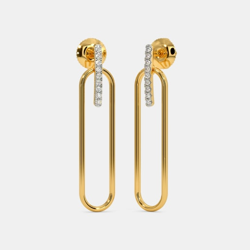 The Purva Drop Earrings
