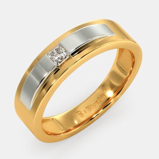 0001d20fbaab8 Band Rings - Buy 400+ Band Ring Designs Online in India 2019 ...