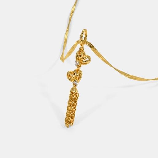 Knits of Hearts Tassel Pendant