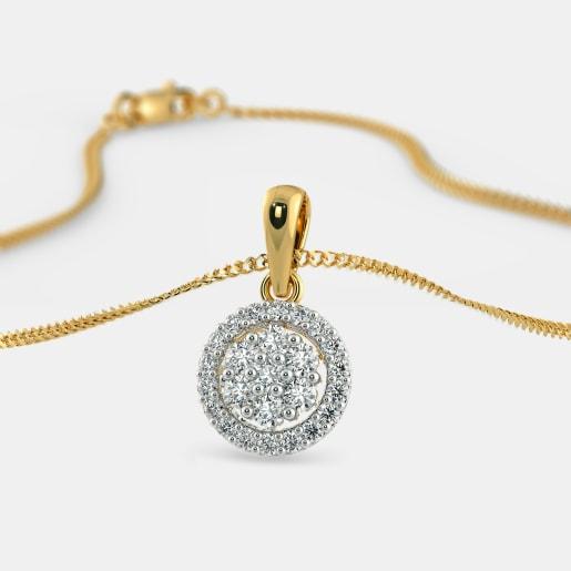 The Caricia Composite Diamond Pendant
