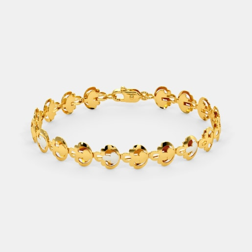 The Vasudha Gold Bracelet
