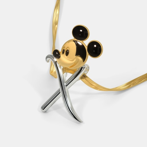 The X Xeno Mickey Pendant For Kids