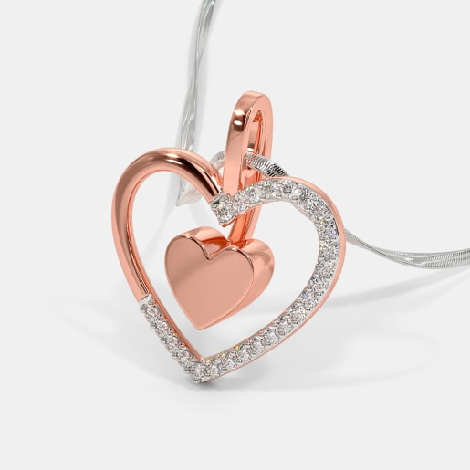 The Lustrous Heart Pendant