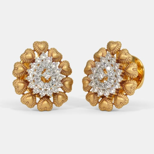 The Padmalaya Petal Stud Earrings