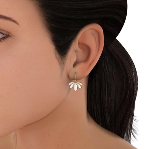 The Lotus Maiden Earrings
