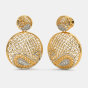 The Cachemire Lattice Earrings